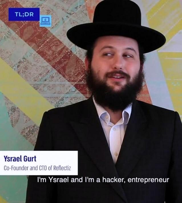 """This entrepreneur was named 23rd best hacker in the world by Google! Meet Ysrael Gurt, CTO of Reflectiz."""