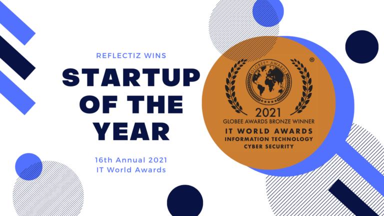 Reflectiz Named 2021 Globee Bronze Award Winner